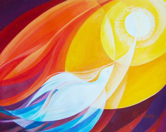 """Holy Spirit Soaring"" by Mary Southard, CSJ"
